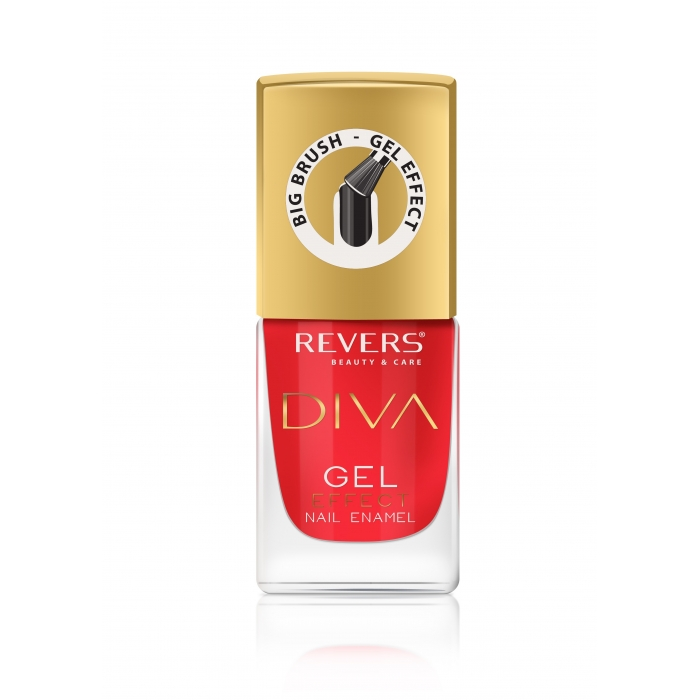 REVERS Gel nail polish DIVA GEL EFFECT 4 12ml
