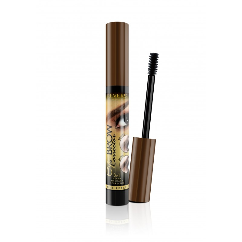REVERS korektor 3v1 EYEBROW 02 Dark Brown
