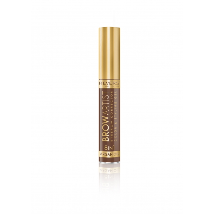 REVERS Eye brow corrector BROW ARTIST 8in1 argan oil - Light Brown
