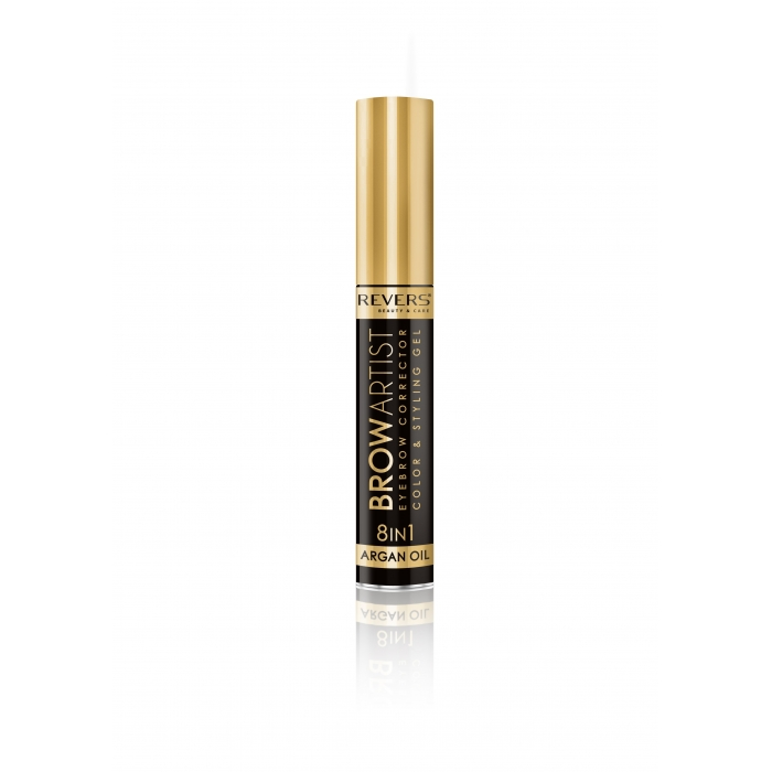 REVERS Eye brow corrector BROW ARTIST 8in1 argan oil - Black