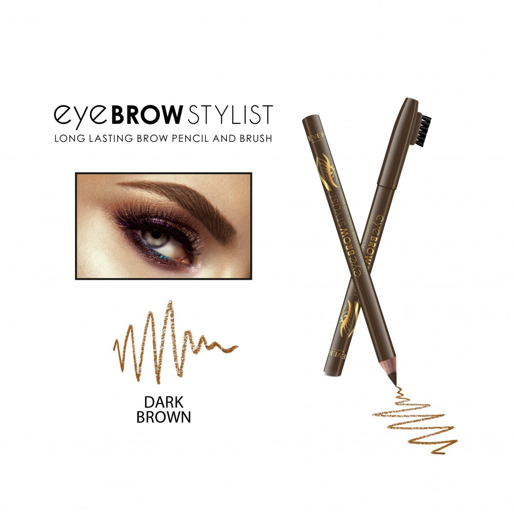 REVERS EYE BROW STYLIST -DARK BROWN