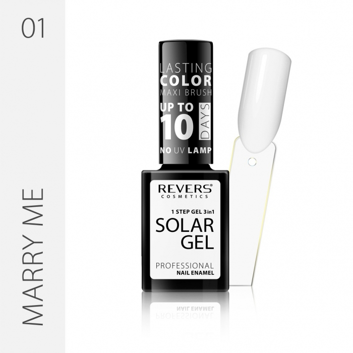 REVERS Nail polish SOLAR GEL no 01 12ml