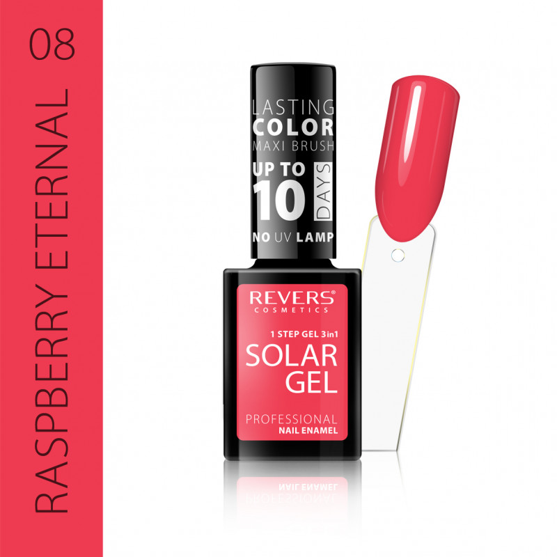 REVERS Nail polish SOLAR GEL no 08 12ml