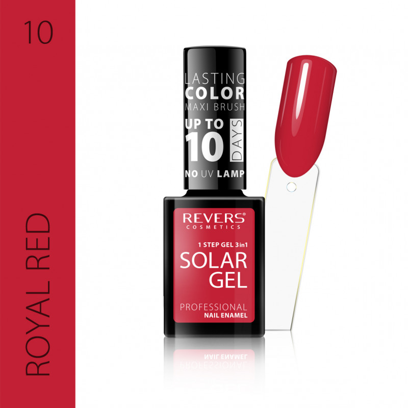 REVERS Nail polish SOLAR GEL no 10 12ml