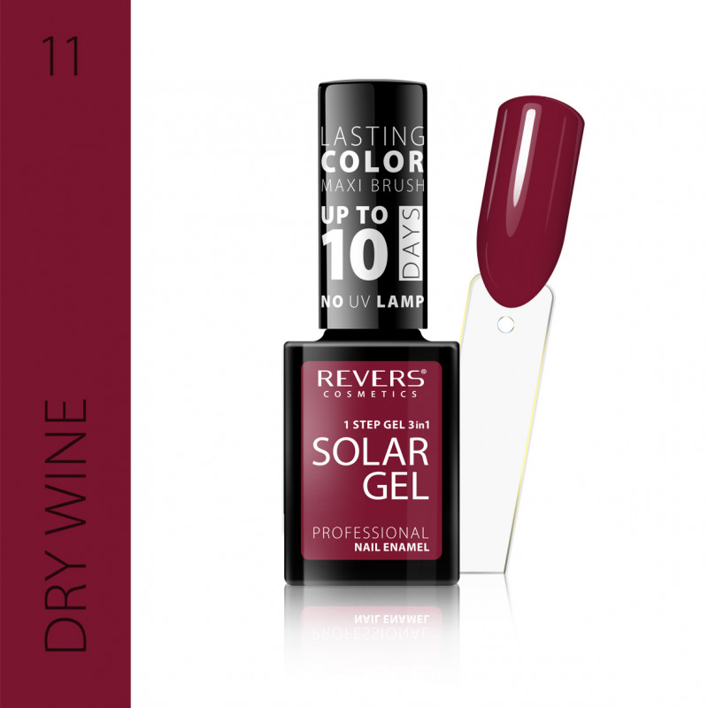 REVERS Nail polish SOLAR GEL no 11 12ml