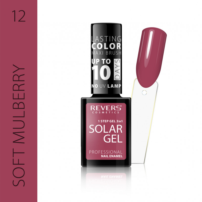 REVERS Nail polish SOLAR GEL no 12 12ml