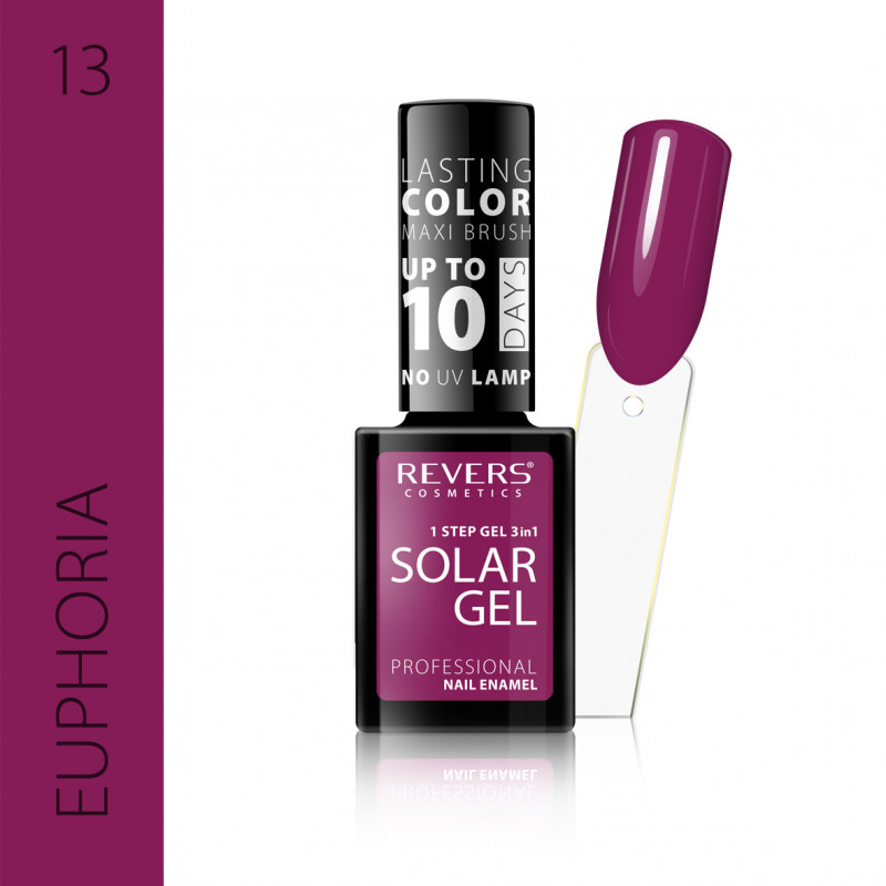 REVERS Nail polish SOLAR GEL no 13 12ml