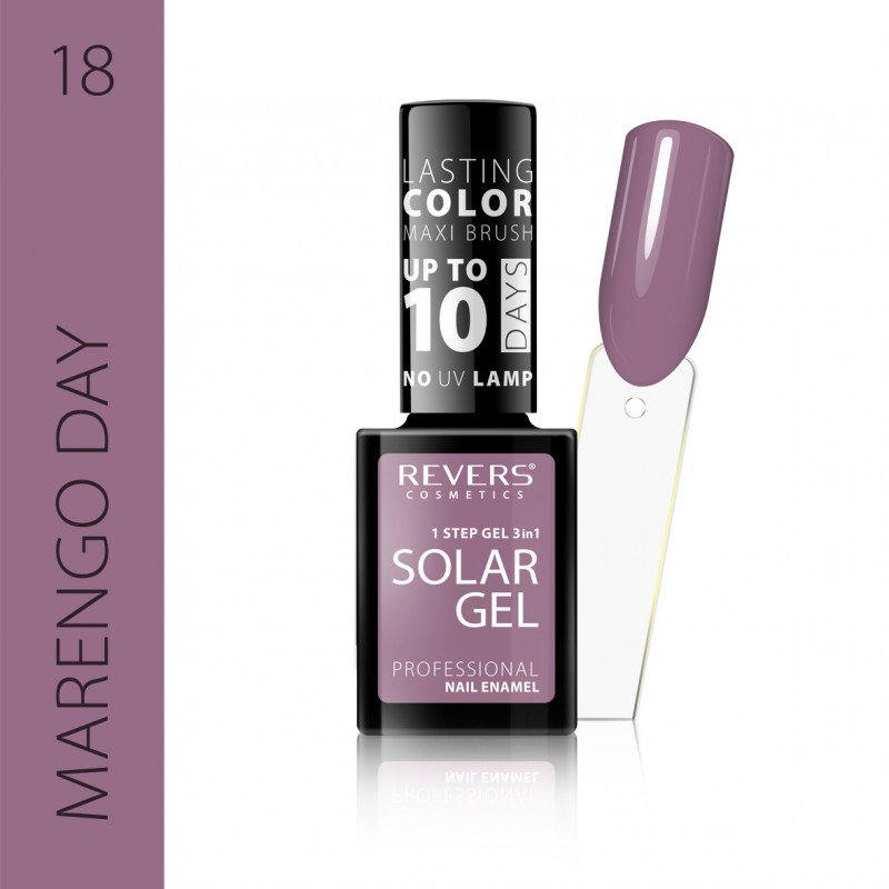 REVERS Nail polish SOLAR GEL no 18 12ml
