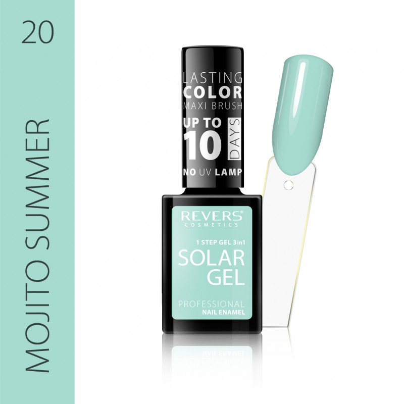 REVERS Nail polish SOLAR GEL no 20 12ml