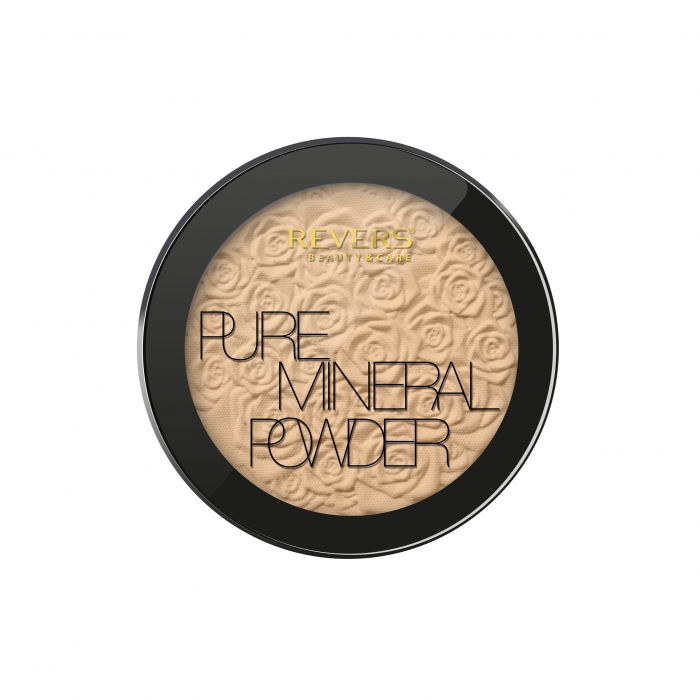 REVERS Pressed powder MINERAL PURE no 01 9g