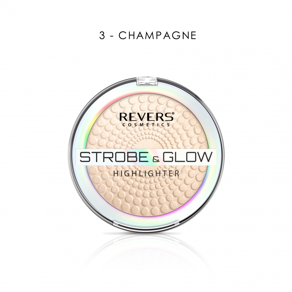REVERS STROBE & GLOW HIGHLIGHTER 03 CHAMPAGNE