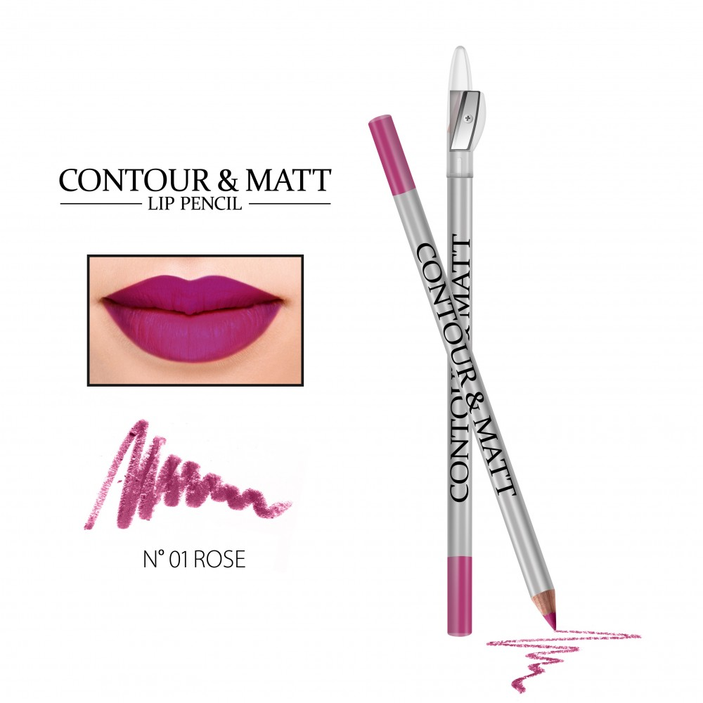 REVERS Lip pencil CONTOUR & MATT no 01 Rose