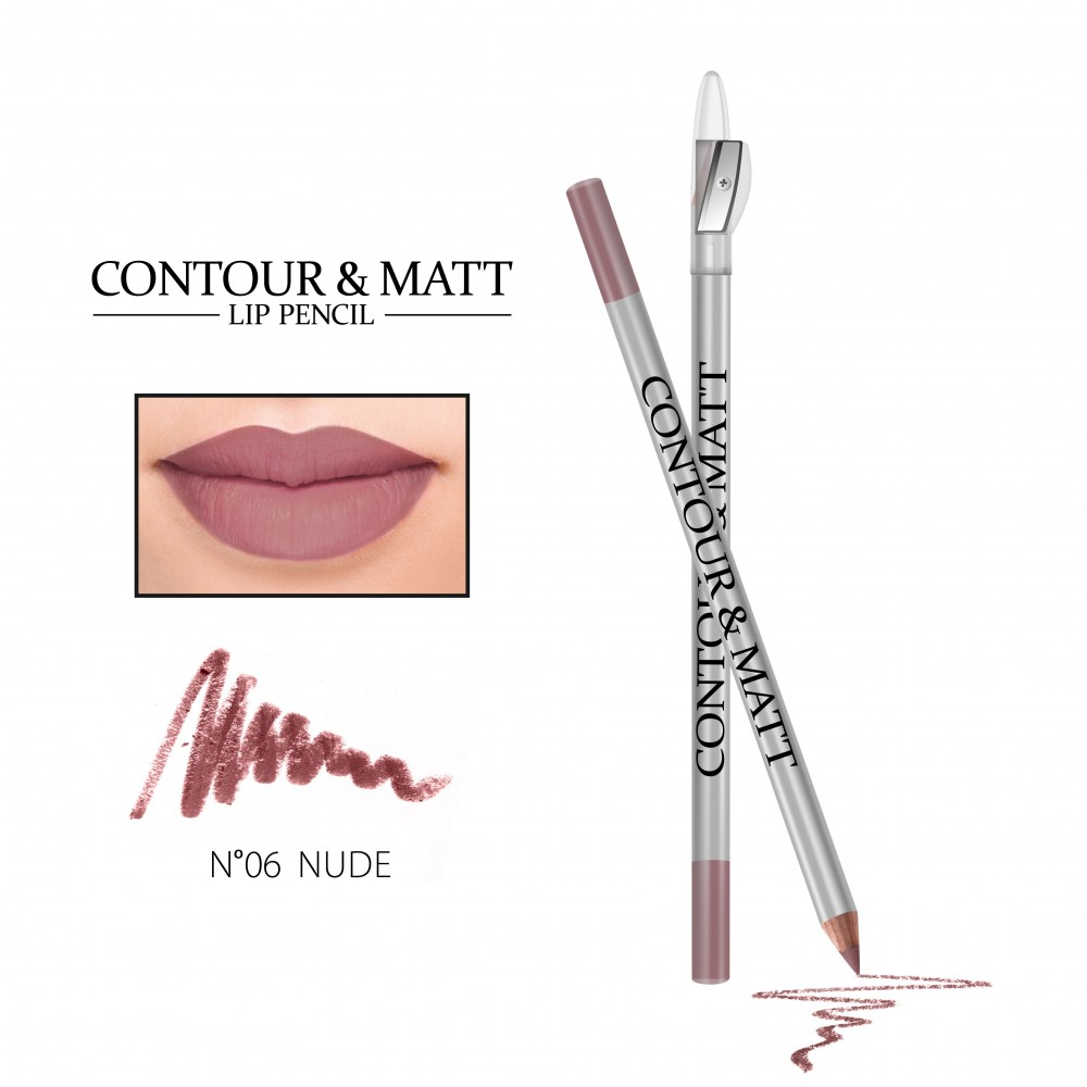 REVERS Lip pencil CONTOUR & MATT no 06 Nude