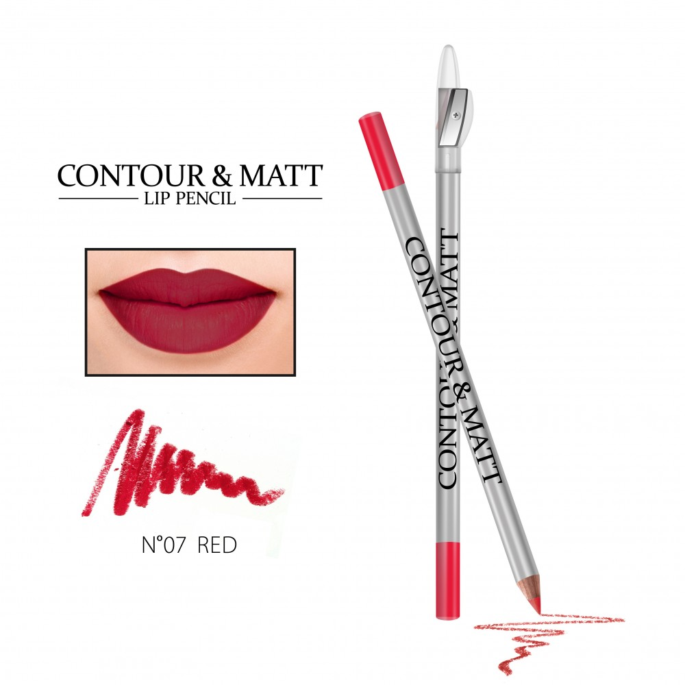 REVERS Lip pencil CONTOUR & MATT no 07 Red