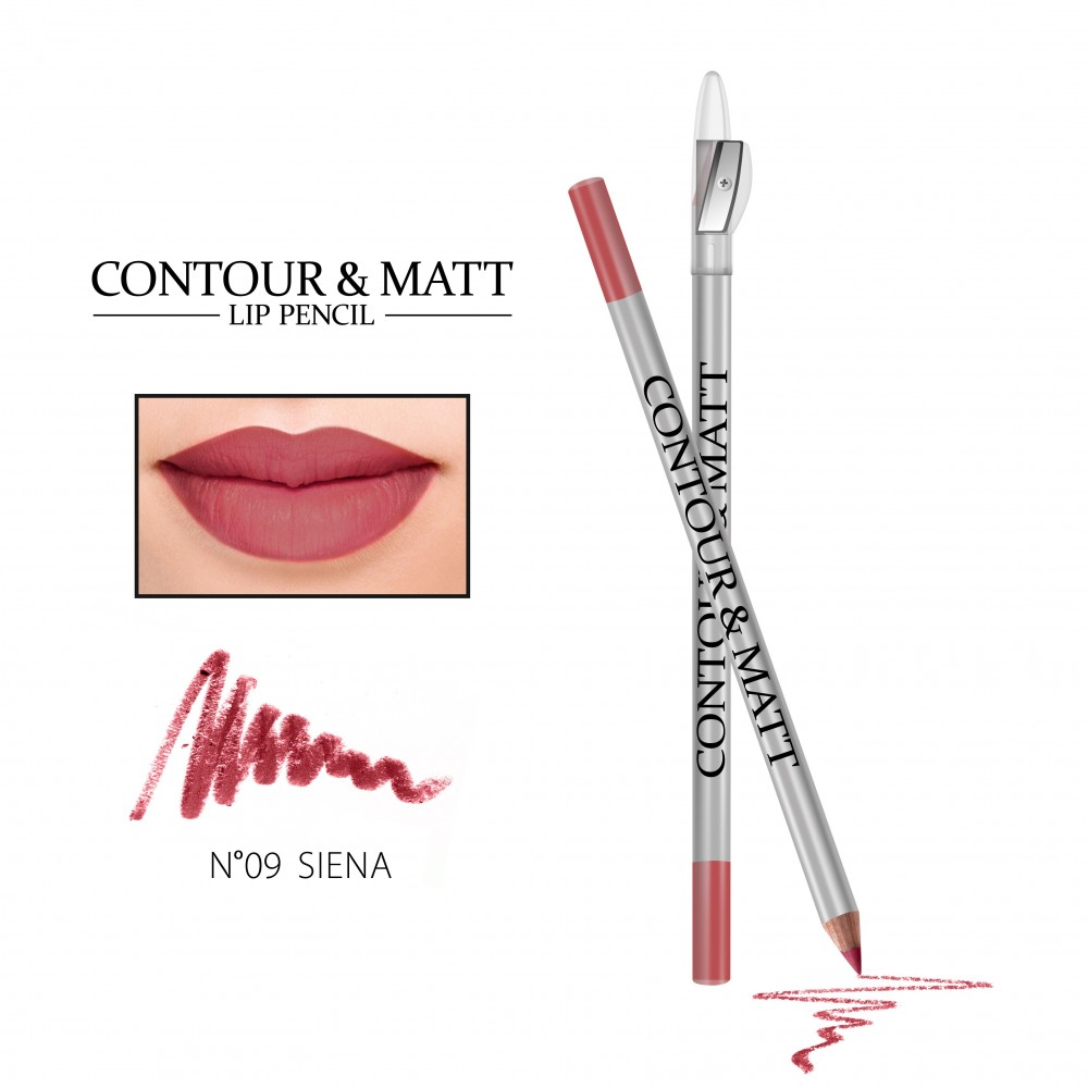 REVERS Lip pencil CONTOUR & MATT no 09 Siena