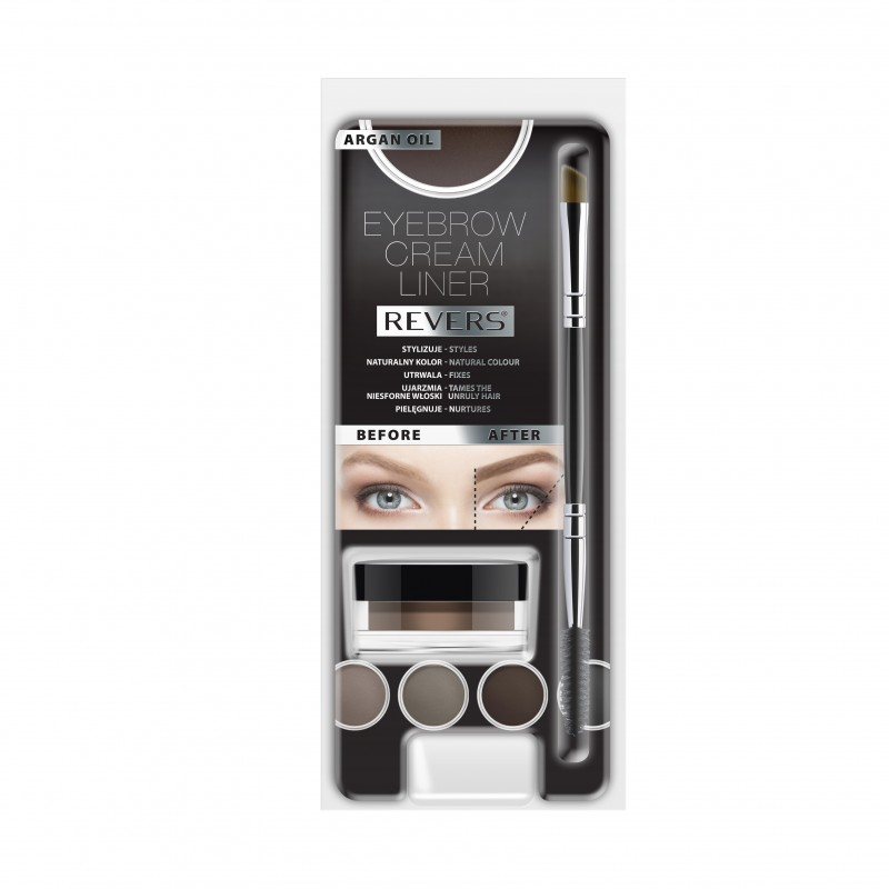 REVERS Eyebrow cream liner GRAPHITE