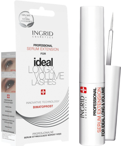 INGRID Ideal Long & Volume Lashes sérum stimulující růst řas 3ml