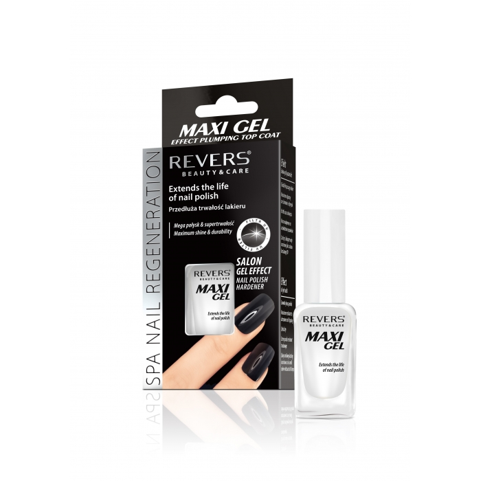 REVERS Maxi Gel Effect  Top Coat ochranné sérum na nehty 10ml